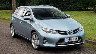 Тест драйв Toyota Auris