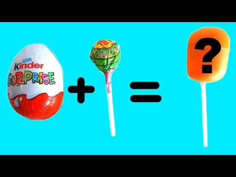 5 AMAZING MOM HACKS | Kinder Eggs Lollipop Crafts