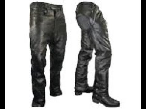 4ca396db Leather Motorcycle Pants - YouTube