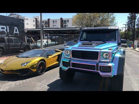 #RDBLA Crazy Chrome Cars (Live Video)