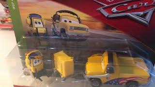 Disney Pixar Cars 2 Turbo Bullock and John Lassetire diecast review