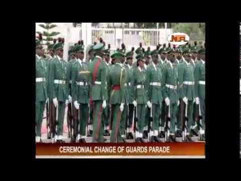 Ceremonial Change of Guard Parade 2014  01-20-2014