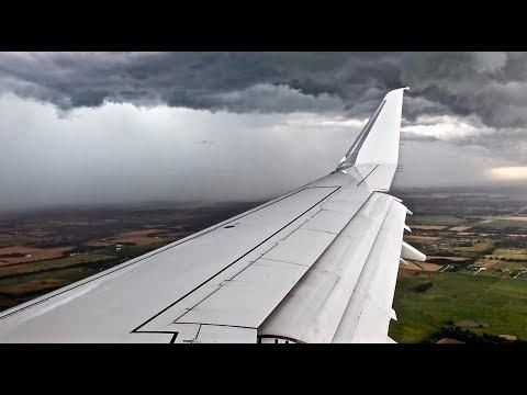 Intense Thunderstorm Landing Attempt – American Eagle – Embraer ERJ-175 – JLN – N241NN – SCS Ep. 1