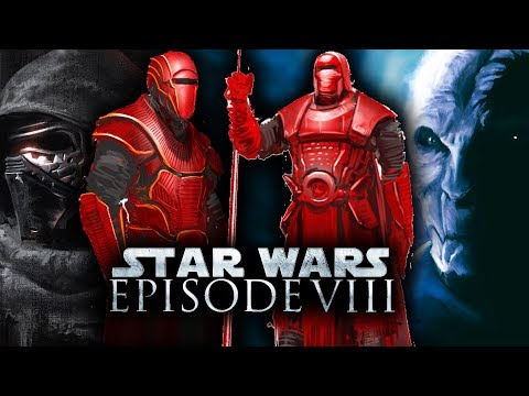 Star Wars Episode 8: The Last Jedi - NEW ROYAL GUARDS! FIRST LOOK!