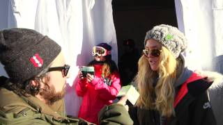 Silje Norendal talks about putting down her winning run and pushing the progression of women's snowb