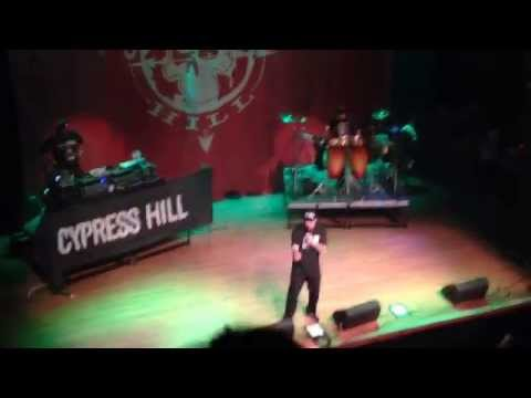 Cypress Hill telling Bill Clinton to go and inhale