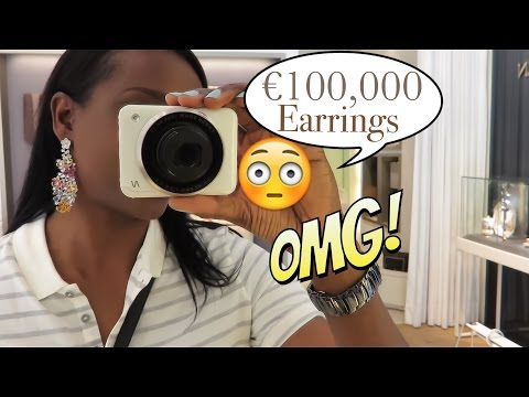 VLOG | Luxury Lifestyle Frankfurt | €100,000 Earrings?!