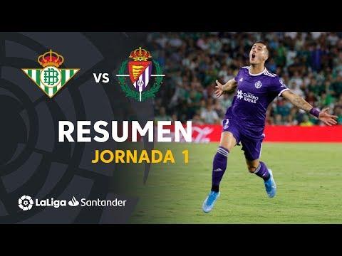 Resumen de Real Betis vs Real Valladolid (1-2)