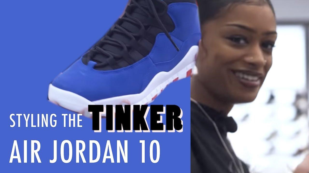 Styling the Air Jordan 10 'Tinker