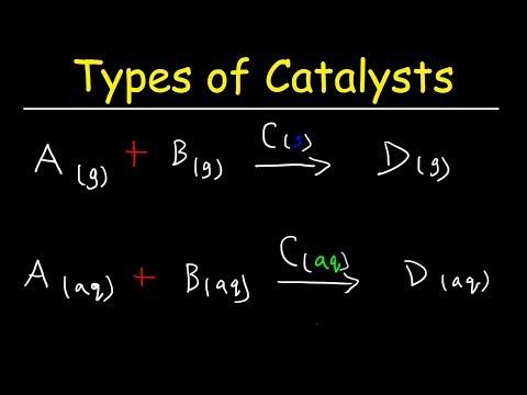 Homogeneous vs Heterogeneous Catalysts - Basic Introduction