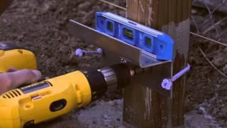 Installing Wood Fence Panels
