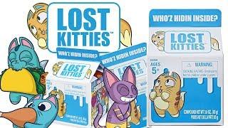 Lost Kitties • Kici Kici • Pokaż się kotku • unboxing