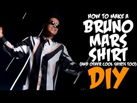 How To Make The Bruno Mars Shirt! KOA DIY