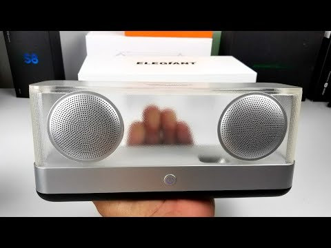 Elegiant I30 - Transparent 20W Bluetooth Speaker!