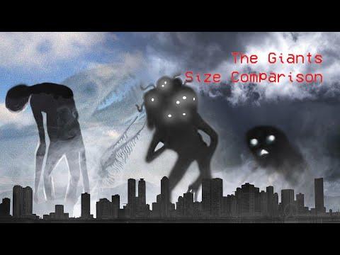 Trevor Henderson Giants Size Comparison