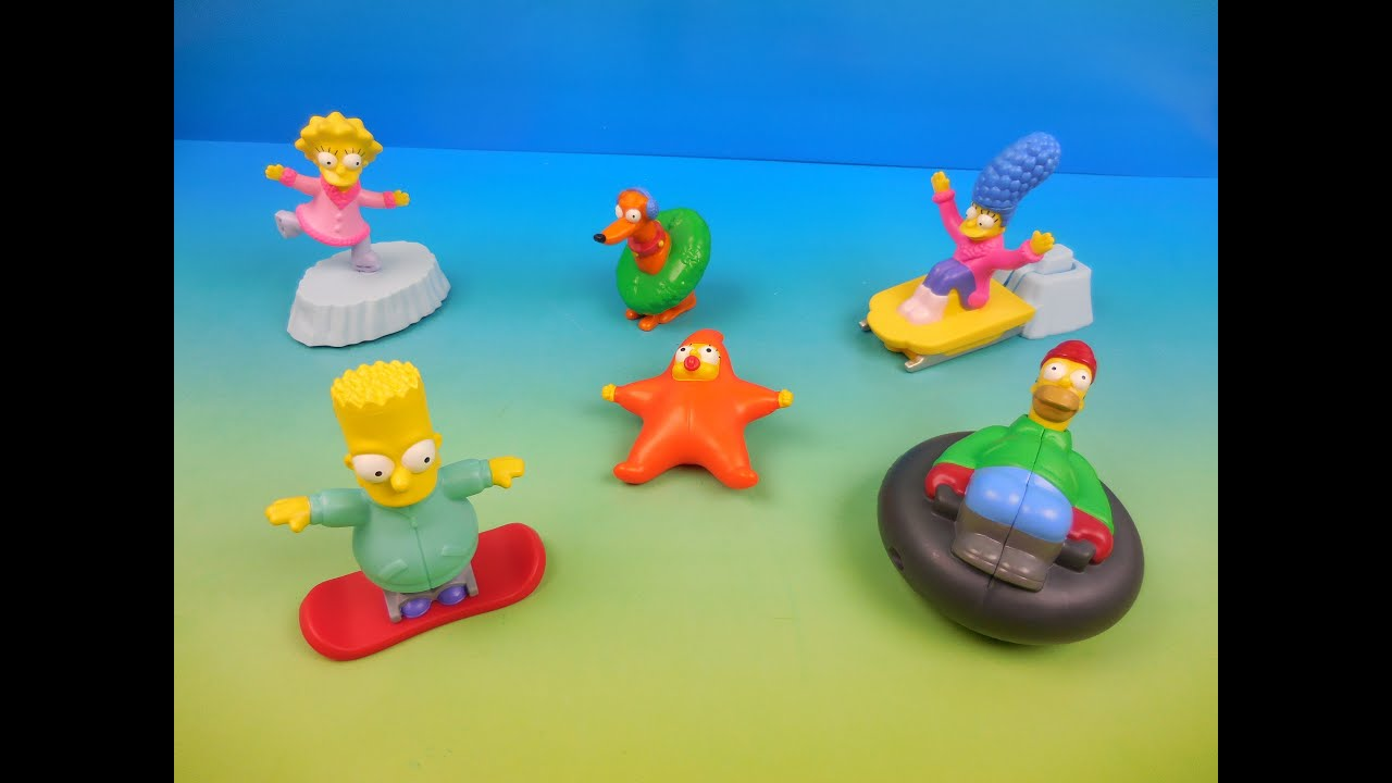 Toys For Winter : The simpsons winter wonderland adventures set of