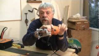 Ridgid Laminate Trimmer Tool Review - A Woodworkweb.com Woodworking Video