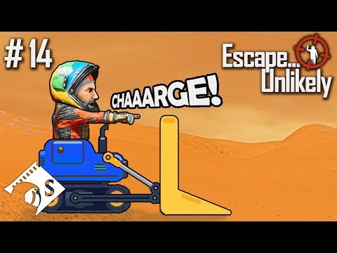 Escape... Unlikely #14 Bulldozer Charge (A Space Engineers Co Op Series)