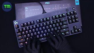 [4K-ASMR] Logitech G Pro GX Bl…