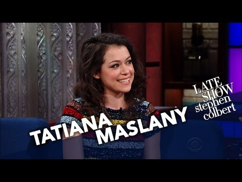 Tatiana Maslany's Weird Interaction At A Naked AllWomen Spa