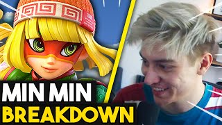 MIN MIN Character BREAKDOWN - Tips & Tricks | Leffen's first thoughts