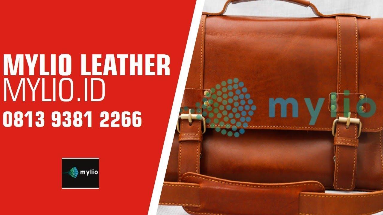 Jual Tas Kulit Pria Bandung - 0813 1333 3540 (TSEL). Aji Mylio Leather ebaa95bc1e