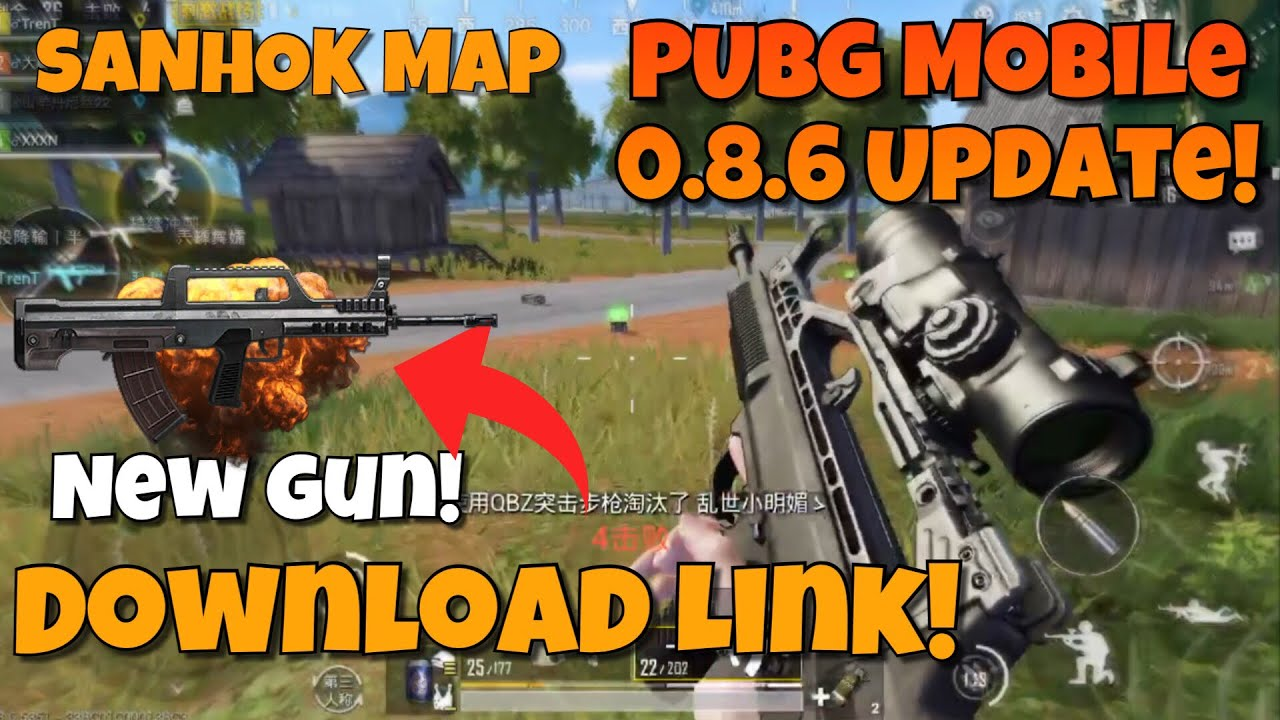 How To Download Sanhok Map On Pubg Mobile 0 8 6 And Unlock: PUBG Mobile 0.8.6 Update Gameplay