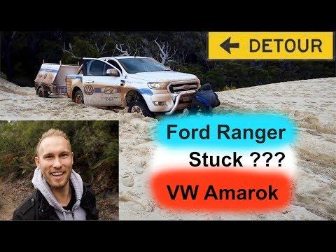 Off Road Test / Ford Ranger vs VW Amarok - The Dunes of Western Australia