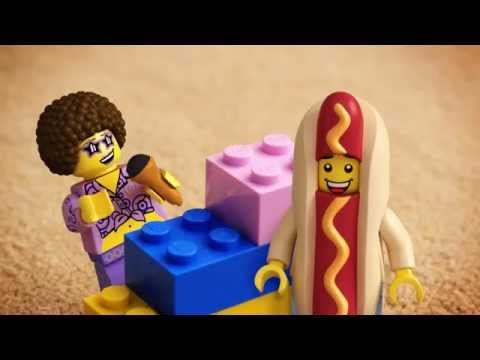 How to trick a Hotdog Man - LEGO Minifigures