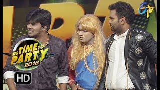 Sudigaali Sudheer Team Performance  | ITS TIME TO PARTY | 31st December 2017 | ETV Telugu