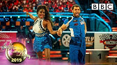 Kelvin and Oti Salsa to 'Let's Hear It For the Boy' - Week 8   BBC Strictly 2019