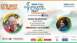 Ruskin Recollections : Ruskin Bond in conversation with Malavika Banerjee