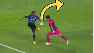 Top 10 Players Who Stole The Ball From Goalkeepers