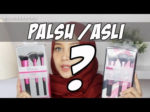 BEDAIN ASLI ATAU PALSU REAL TECHNIQUES BRUSH | Linda Kayhz