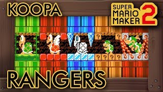 "Super Mario Maker 2 - Great ""Koopa Rangers, Assemble!"" Level"