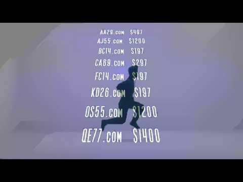 16x Short Domain Names For Sale 2019