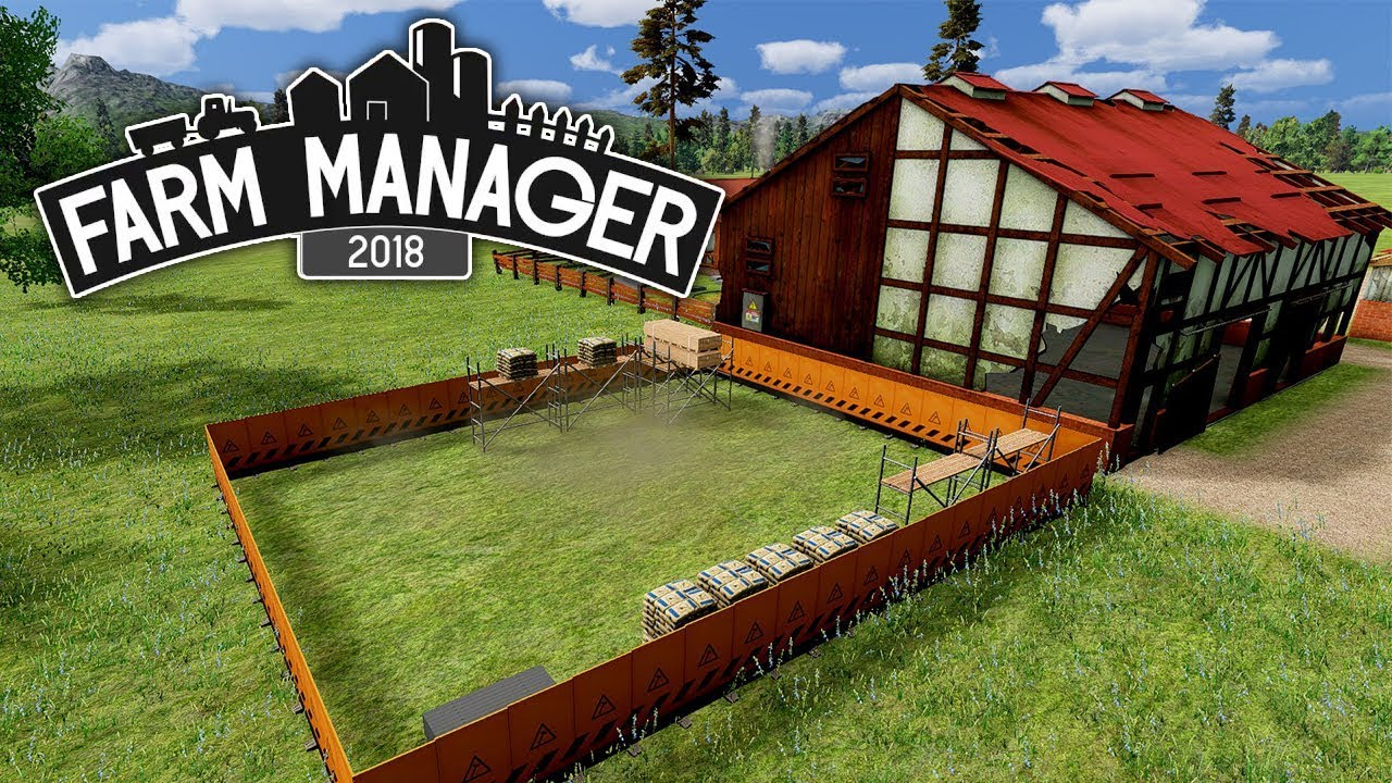 Farm Manager 2018 – Ep 01 – Repairing The Old Family Farm