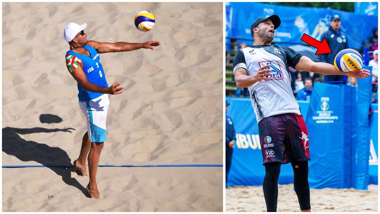 Craziest Sky Ball Serves in Volleyball History - Adrian Carambula (HD)