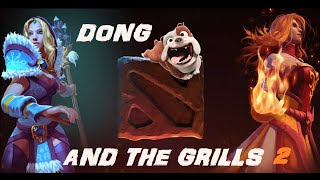 Bulldog and the grills 2