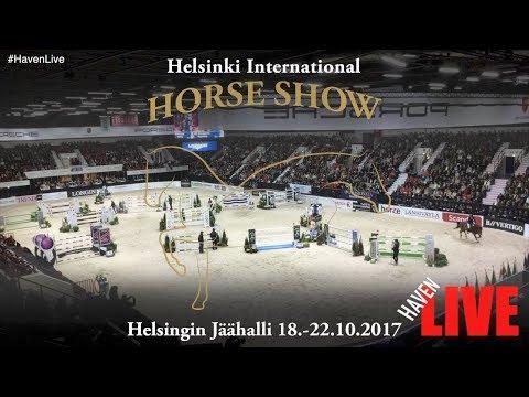 Helsinki International Horse Show 18-22.10.2017  - Day 1 - Wed