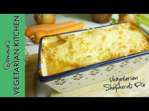 VEGETARIAN SHEPHERDS PIE RECIPE  | Easy Vegetarian recipes  | Veggie recipes for MEAT FREE MONDAY