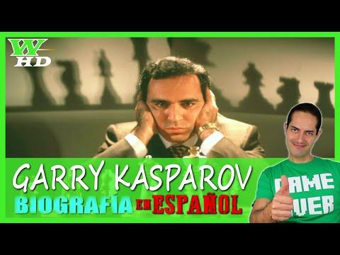 GARRY KASPAROV ♜【 DOCUMENTAL 🔊 ESPAÑOL 】► Biografía, Estilo, Carrera y Curiosidades