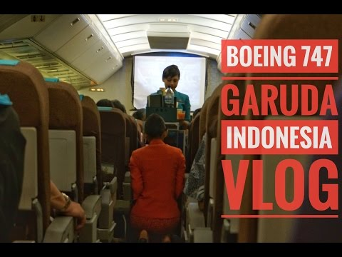 Flight Vlog | Garuda Indonesia | Boeing 747-4U3 | GA 328 | CGK-SUB