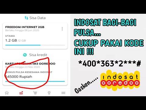 Kode Rahasia Pulsa Gratis Indosat Ooredoo