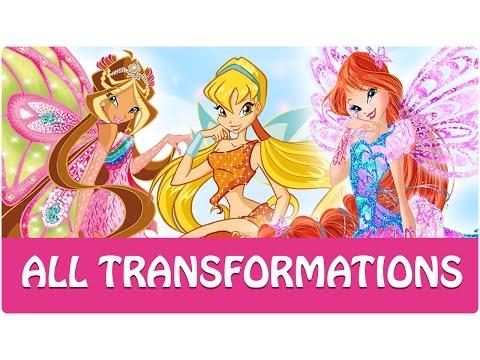 Winx Club - All Winx Full Transformations!