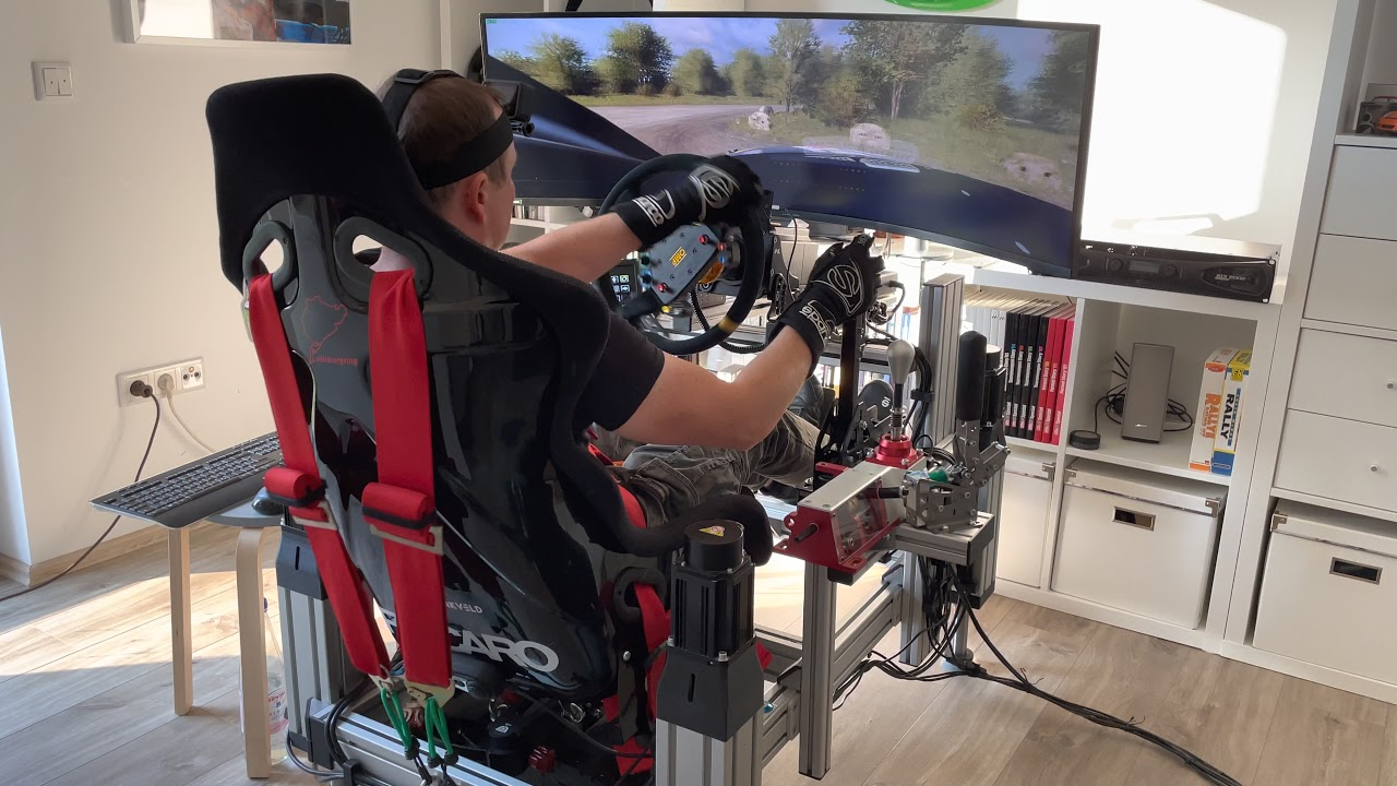 I PUSH THE MOTION SIMULATOR TO THE ABSOLUTE LIMIT - DIRT Rally 2.0 - SFX100 - Next Level Racing V3