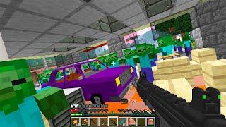видео: Новые пушки! День 127. Зомби Апокалипсис в Майнкрафт