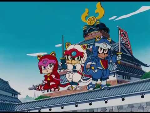 アニメ「キャッ党忍伝てやんでえ」オープニングテーマ「おっとどっこい日本晴れ」