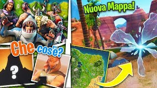 BUG SHOWS THE SKIN OF THE SECRET CHARACTER?! and NEW DESERTO MAP - Fortnite Battle Royale ITA