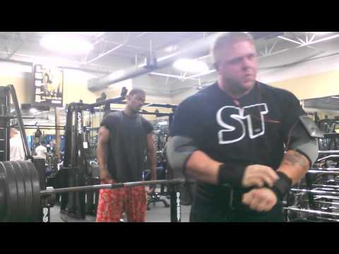 Chad Dresden 500lb Raw Bench Press
